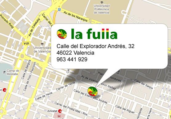 Mapa de La Fulla Explorador Andres